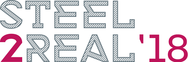 steel2real 18 2lines logo