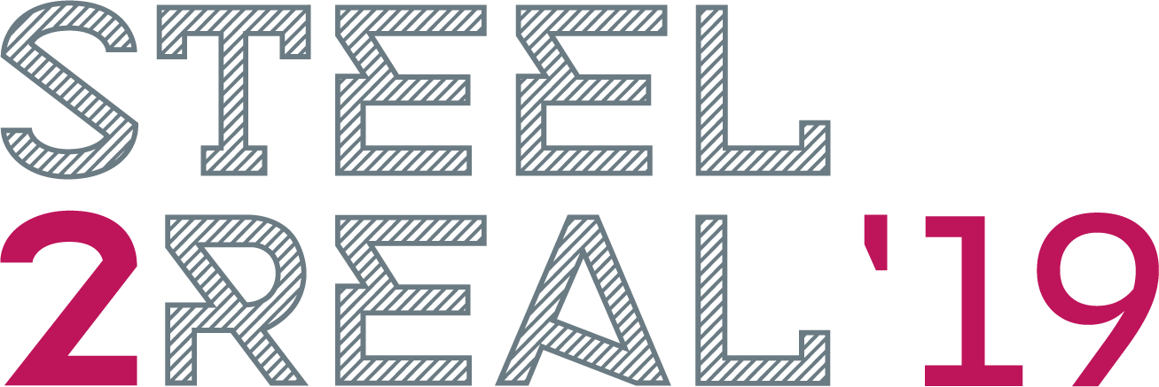 steel2real 19 2lines logo